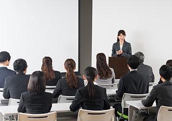企業の新商品開発・発表会を撮影・配信